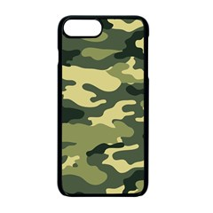 Camouflage Camo Pattern Apple Iphone 7 Plus Seamless Case (black)