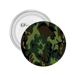 Military Camouflage Pattern 2 25  Buttons