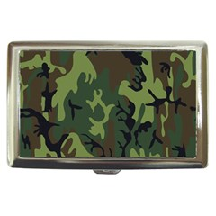 Military Camouflage Pattern Cigarette Money Cases