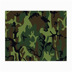 Military Camouflage Pattern Small Glasses Cloth