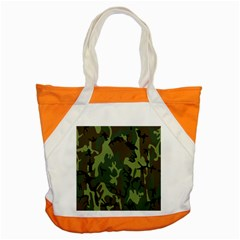 Military Camouflage Pattern Accent Tote Bag