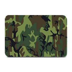Military Camouflage Pattern Plate Mats
