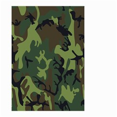 Military Camouflage Pattern Small Garden Flag (Two Sides)