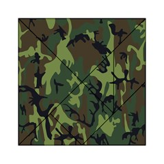 Military Camouflage Pattern Acrylic Tangram Puzzle (6  x 6 )
