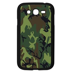 Military Camouflage Pattern Samsung Galaxy Grand Duos I9082 Case (black)