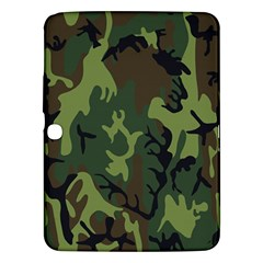 Military Camouflage Pattern Samsung Galaxy Tab 3 (10.1 ) P5200 Hardshell Case