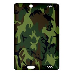 Military Camouflage Pattern Amazon Kindle Fire HD (2013) Hardshell Case