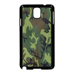 Military Camouflage Pattern Samsung Galaxy Note 3 Neo Hardshell Case (black)