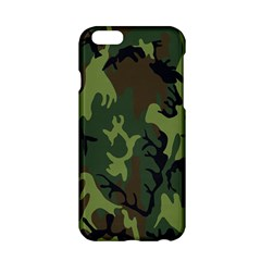 Military Camouflage Pattern Apple iPhone 6/6S Hardshell Case