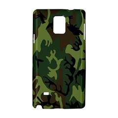 Military Camouflage Pattern Samsung Galaxy Note 4 Hardshell Case