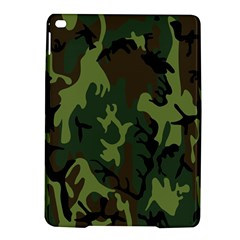 Military Camouflage Pattern iPad Air 2 Hardshell Cases