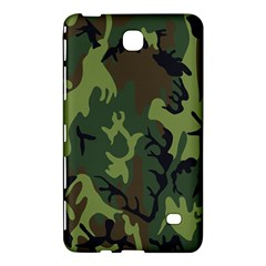 Military Camouflage Pattern Samsung Galaxy Tab 4 (7 ) Hardshell Case
