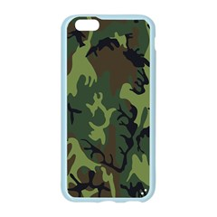 Military Camouflage Pattern Apple Seamless iPhone 6/6S Case (Color)