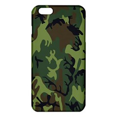 Military Camouflage Pattern iPhone 6 Plus/6S Plus TPU Case