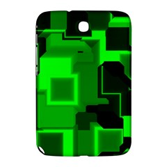 Green Cyber Glow Pattern Samsung Galaxy Note 8.0 N5100 Hardshell Case