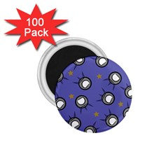Rockets In The Blue Sky Surrounded 1 75  Magnets (100 Pack)