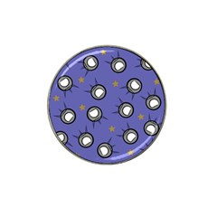 Rockets In The Blue Sky Surrounded Hat Clip Ball Marker