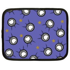 Rockets In The Blue Sky Surrounded Netbook Case (large)