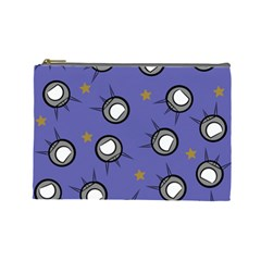 Rockets In The Blue Sky Surrounded Cosmetic Bag (large)