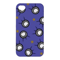 Rockets In The Blue Sky Surrounded Apple iPhone 4/4S Premium Hardshell Case