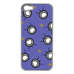 Rockets In The Blue Sky Surrounded Apple iPhone 5 Case (Silver)