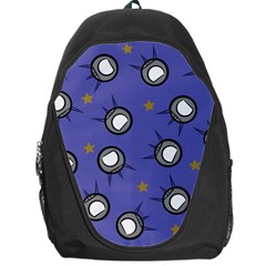 Rockets In The Blue Sky Surrounded Backpack Bag
