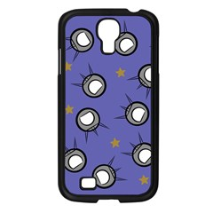 Rockets In The Blue Sky Surrounded Samsung Galaxy S4 I9500/ I9505 Case (Black)