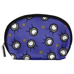 Rockets In The Blue Sky Surrounded Accessory Pouches (Large)