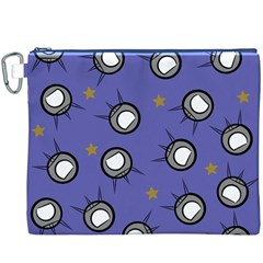 Rockets In The Blue Sky Surrounded Canvas Cosmetic Bag (xxxl)