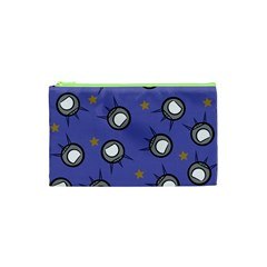 Rockets In The Blue Sky Surrounded Cosmetic Bag (xs)