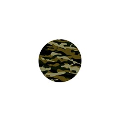 Military Vector Pattern Texture 1  Mini Magnets