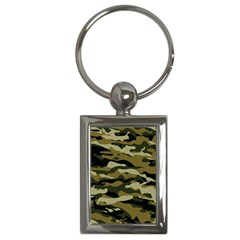 Military Vector Pattern Texture Key Chains (rectangle)