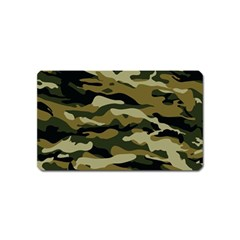 Military Vector Pattern Texture Magnet (Name Card)