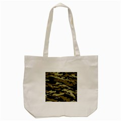 Military Vector Pattern Texture Tote Bag (Cream)