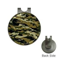 Military Vector Pattern Texture Hat Clips With Golf Markers
