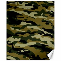 Military Vector Pattern Texture Canvas 16  X 20