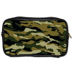 Military Vector Pattern Texture Toiletries Bags 2 Side