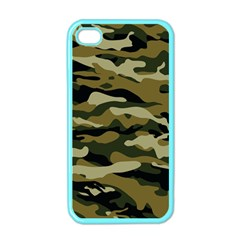 Military Vector Pattern Texture Apple iPhone 4 Case (Color)