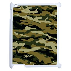 Military Vector Pattern Texture Apple iPad 2 Case (White)