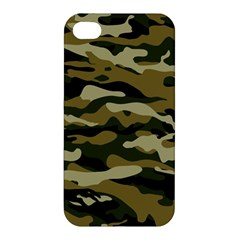Military Vector Pattern Texture Apple iPhone 4/4S Hardshell Case