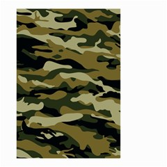Military Vector Pattern Texture Small Garden Flag (Two Sides)