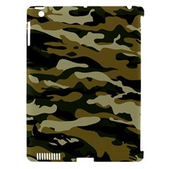 Military Vector Pattern Texture Apple iPad 3/4 Hardshell Case (Compatible with Smart Cover)