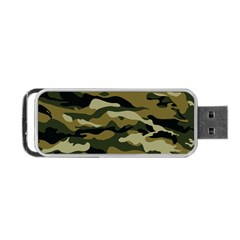 Military Vector Pattern Texture Portable USB Flash (One Side)