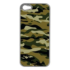 Military Vector Pattern Texture Apple Iphone 5 Case (silver)