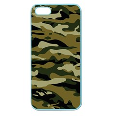 Military Vector Pattern Texture Apple Seamless iPhone 5 Case (Color)