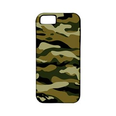 Military Vector Pattern Texture Apple Iphone 5 Classic Hardshell Case (pc+silicone)