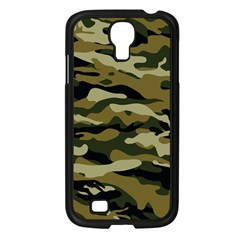 Military Vector Pattern Texture Samsung Galaxy S4 I9500/ I9505 Case (Black)