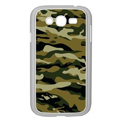 Military Vector Pattern Texture Samsung Galaxy Grand DUOS I9082 Case (White)