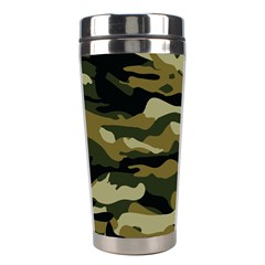 Military Vector Pattern Texture Stainless Steel Travel Tumblers