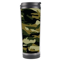 Military Vector Pattern Texture Travel Tumbler